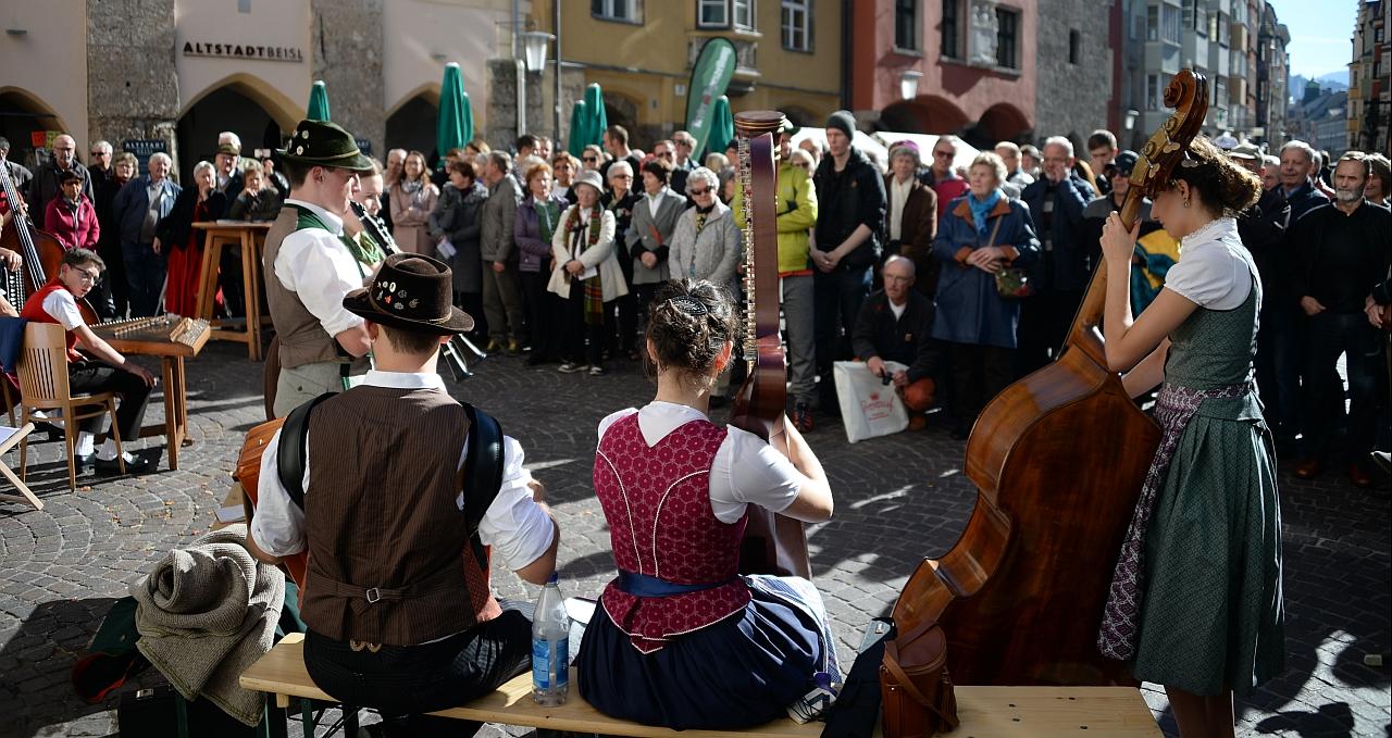 Aufg'horcht in Innsbruck - Volksmusik erobert die Stadt
