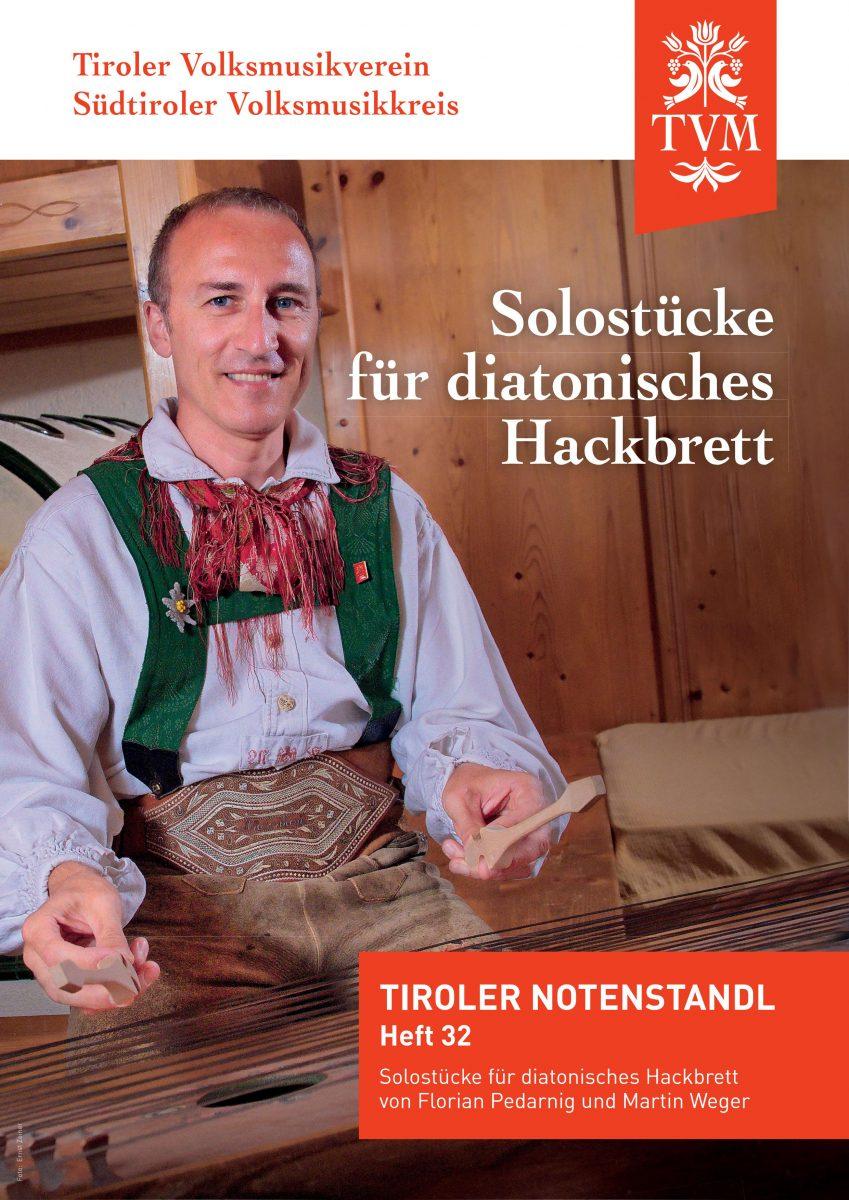 Heft 32, Solostücke für diatonisches Hackbrett